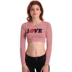 Textil Ženy Trička s dlouhými rukávy Fornarina SE175L14JG0976 Červené