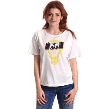 Textil Ženy Trička s krátkým rukávem Fornarina SE175L27JG1608 Bílý