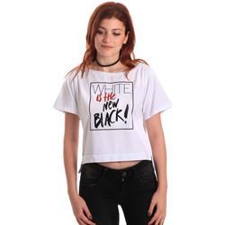 Textil Ženy Trička s krátkým rukávem Fornarina SE175L28JG0709 Bílý