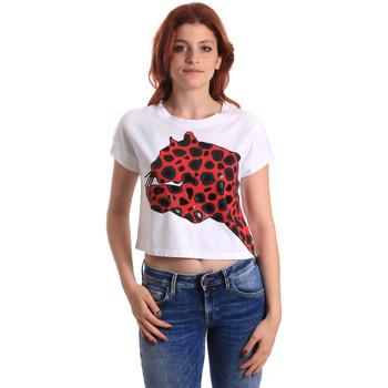 Textil Ženy Trička s krátkým rukávem Fornarina SE175L32JG0709 Červené