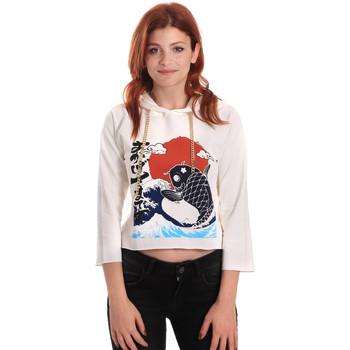 Textil Ženy Mikiny Fornarina SE176842F42709 Bílý