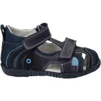 Boty Děti Sandály Primigi 7044 Modrý