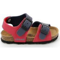 Boty Děti Sandály Grunland SB0025 Červené