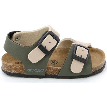 Boty Děti Sandály Grunland SB0413 Béžový