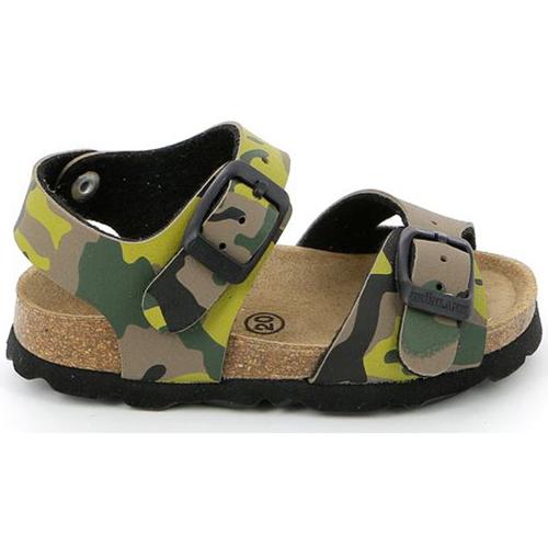 Boty Děti Sandály Grunland SB0169 Zelený