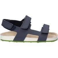 Boty Děti Sandály Grunland SB0831 Modrý