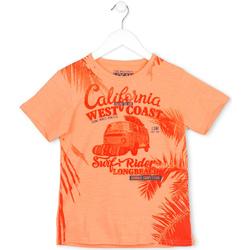 Textil Děti Trička s krátkým rukávem Losan 713 1022AA Oranžový