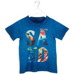Textil Chlapecké Trička s krátkým rukávem Losan 713 1023AA Modrý