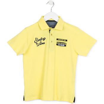 Textil Děti Polo s krátkými rukávy Losan 713 1032AA Žlutá