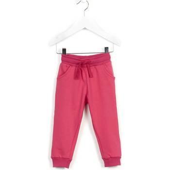 Textil Děti Teplákové kalhoty Losan 626 6014AD Růžový