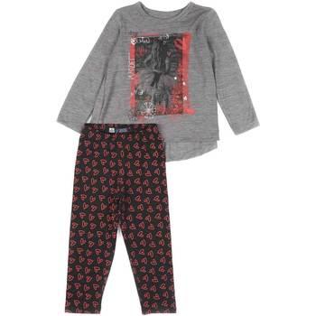 Textil Dívčí Set Losan 626 8016AD Šedá