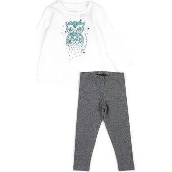 Textil Dívčí Set Losan 626 8026AD Bílý