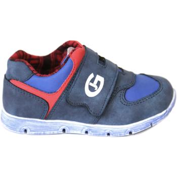Boty Chlapecké Nízké tenisky Grunland PP0157 Modrý