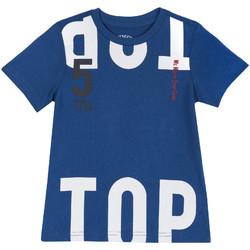 Textil Děti Trička s krátkým rukávem Chicco 09006586000000 Modrý
