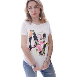 Textil Ženy Trička s krátkým rukávem Fracomina FR20SP368 Bílý