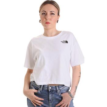Textil Ženy Trička s krátkým rukávem The North Face NF0A4SYCFN41 Bílý
