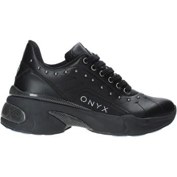 Boty Ženy Nízké tenisky Onyx W19-SOX513 Černá