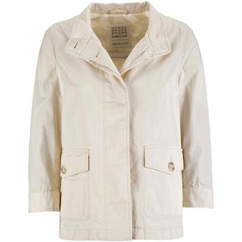 Textil Ženy Parky Geox W7223C T2343 Bílý