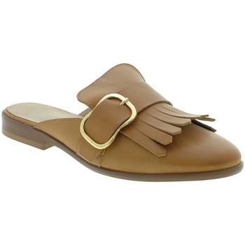 Boty Ženy Pantofle Mally 6116 Hnědý