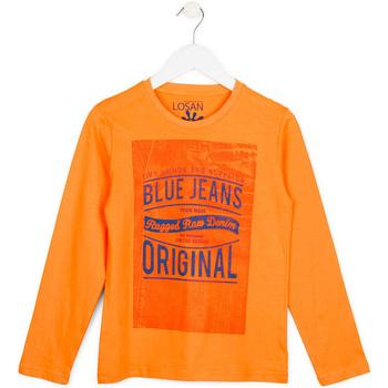 Textil Děti Svetry Losan 713 1302AA Oranžový