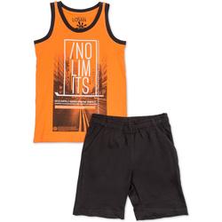 Textil Chlapecké Set Losan 713 8044AA Oranžový