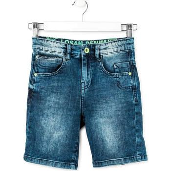 Textil Chlapecké Kraťasy / Bermudy Losan 713 9006AA Modrý