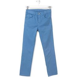 Textil Děti Kapsáčové kalhoty Losan 713 9653AA Modrý