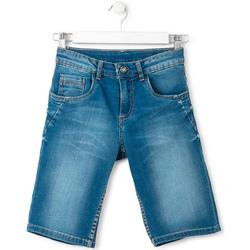 Textil Chlapecké Kraťasy / Bermudy Losan 713 9660AA Modrý