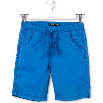 Textil Děti Kraťasy / Bermudy Losan 713 9665AA Modrý