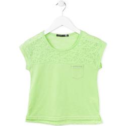 Textil Dívčí Trička s krátkým rukávem Losan 714 1013AB Zelený