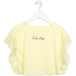 Textil Dívčí Halenky / Blůzy Losan 714 1032AB Žlutá