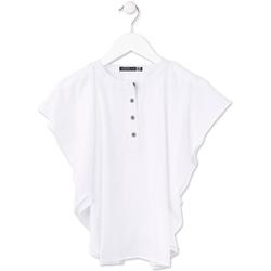 Textil Dívčí Halenky / Blůzy Losan 714 3002AB Bílý