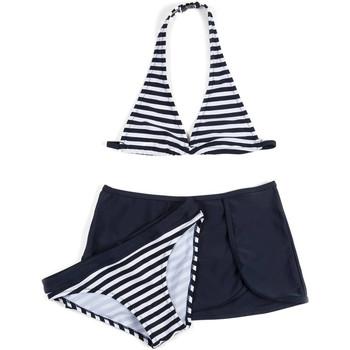 Textil Dívčí Bikini Losan 714 4009AB Modrý