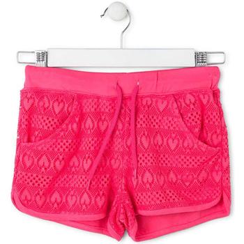 Textil Dívčí Plavky / Kraťasy Losan 714 6010AB Růžový