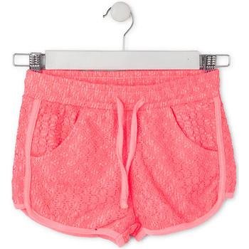 Textil Děti Kraťasy / Bermudy Losan 714 6021AB Růžový