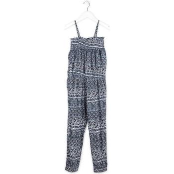 Textil Dívčí Overaly / Kalhoty s laclem Losan 714 7020AB Modrý