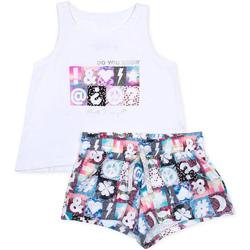 Textil Dívčí Set Losan 714 8000AB Bílý