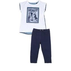 Textil Dívčí Set Losan 714 8002AB Modrý