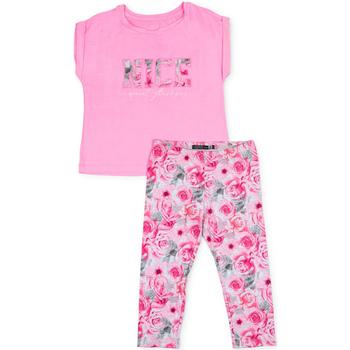 Textil Dívčí Set Losan 714 8004AB Růžový