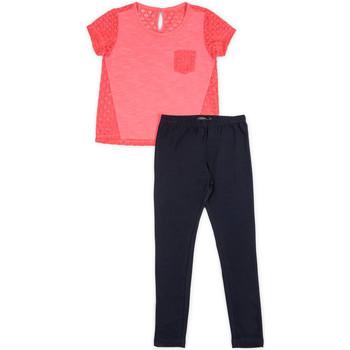 Textil Dívčí Set Losan 714 8008AB Růžový
