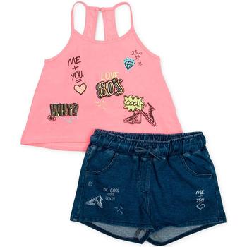 Textil Dívčí Set Losan 714 8010AB Růžový