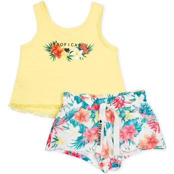 Textil Dívčí Set Losan 714 8016AB Žlutá