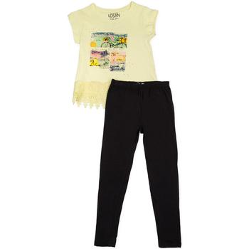 Textil Dívčí Set Losan 714 8018AB Žlutá