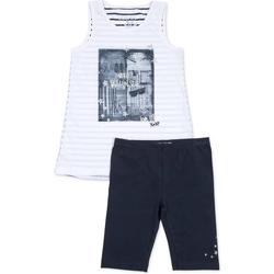 Textil Dívčí Set Losan 714 8042AB Modrý