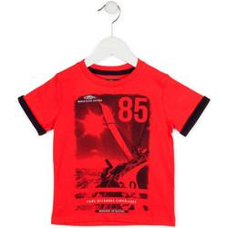 Textil Chlapecké Trička s krátkým rukávem Losan 715 1001AC Červené