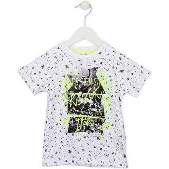 Textil Děti Trička s krátkým rukávem Losan 715 1008AC Bílý