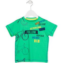 Textil Chlapecké Trička s krátkým rukávem Losan 715 1014AC Zelený