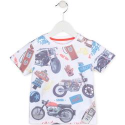 Textil Chlapecké Trička s krátkým rukávem Losan 715 1017AC Bílý