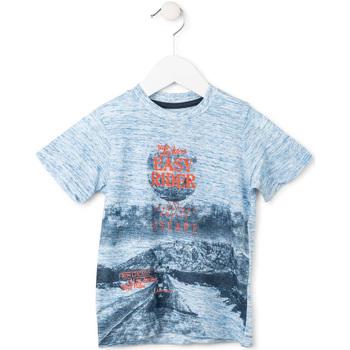 Textil Chlapecké Trička s krátkým rukávem Losan 715 1018AC Modrý