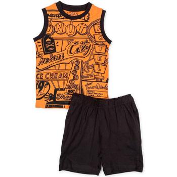 Textil Chlapecké Set Losan 715 8043AC Oranžový